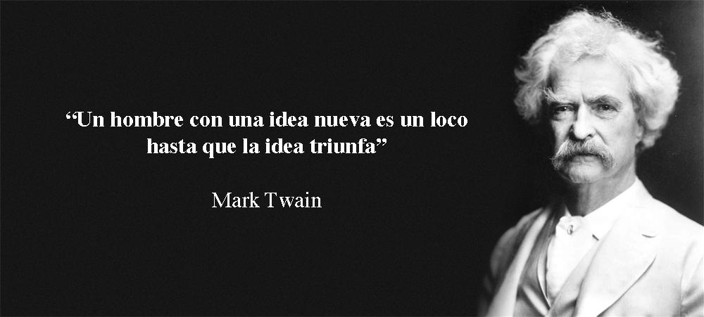 Mark Twain frase