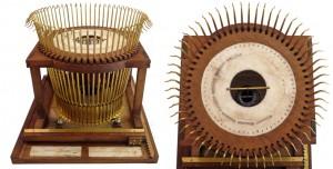 Xavier Progin typewriter