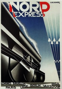 art deco nord express