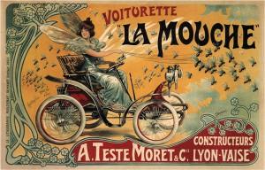 art_nouveau_51Voiturette-La-Mouche-Francisco-Tamagno-1900