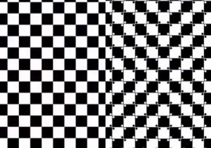 ilusiones opticas de forma