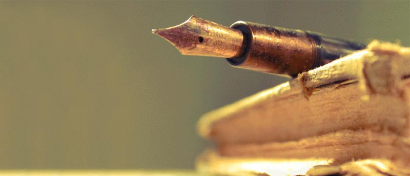 libro y pluma primer diario