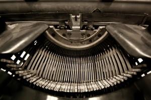 máquina de escribir tipo