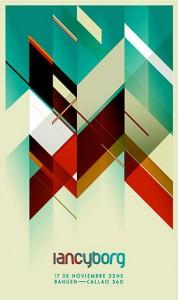 poligonal poster