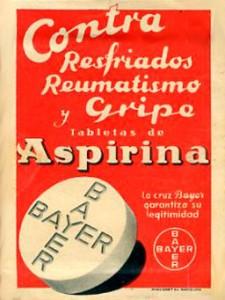 vintage aspirina