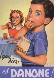 vintage danone